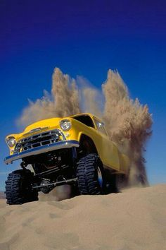 Chevy sand blaster, now this is what im talking about