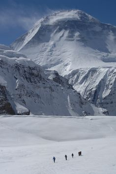 Dhaulagiri (8167m) is the seventh highest mountain in the world