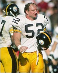 Pittsburgh Steelers  Kansas City Chiefs Center Mike Webster 255 he is  probably the greatest center to ever play the game. a79cf39aa