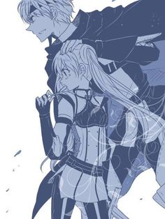 Fire Emblem Awakening - Gaius and Severa
