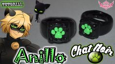 ♥ Tutorial: Anillo Chat Noir o Black Cat [ Miraculous Ladybug ]♥