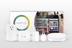 """SmartThings is in the home automation space, and allows you to connect devices like lights and doorlocks to a system controlled by your mobile phone. Samsung's smartphone sales continue to fall, and it's projecting a roughly 22-26% drop in smartphone profits year over year. Now, the Korean megalith may be looking for areas of expansion that will drive its high-end phones, where most of its cash is coming from."""
