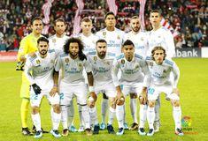 EQUIPOS DE FÚTBOL: REAL MADRID contra Athletic de Bilbao 02/12/2017 Liga de 1ª División