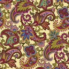 Botanica fabric from Henry Glass