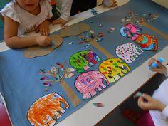 Το μαγικό κουτί της...Κατερίνας: Ο Ελμερ, οι φίλοι του και η πολύχρωμη βροχή Diy Home Crafts, Elementary Art, Party Themes, Fairy Tales, Kids Rugs, Teaching, Blog, Albums, February