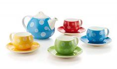 Pöttyös teáscsésze szett Tea, Mugs, Tableware, Gourmet, Dinnerware, Tumblers, Tablewares, Mug, Dishes
