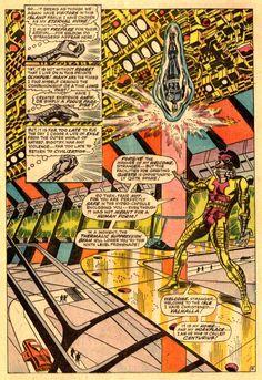 Steranko! Nick Fury, Agent of Shield # 2. << Steranko's the man!