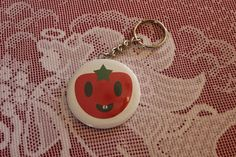 Toothy Tomato Keychain from Zazzle. Product Review, Kawaii Fashion, Personalized Items, Key Chain, Real Life, Photos, Design, Pictures, Photographs