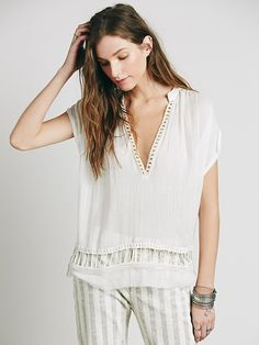 FP One Cap Sleeve Pullover at Free People Clothing Boutique