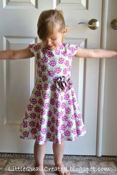 Little Quail: Lenten Sewing - Easter Dress
