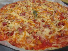 Pizza de arroz | Los fogones de Ana Sevilla. Receta al estilo tradicional con enlace a la version TMX.