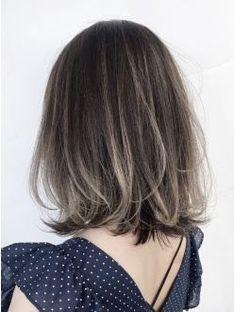 Ideas For Hair Trends 2018 Ombre Brown Hair Korean, Korean Hair Color, Asian Short Hair, Short Brown Hair, Asian Hair, Medium Hair Styles, Short Hair Styles, Hair Trends 2018, Gorgeous Hair Color