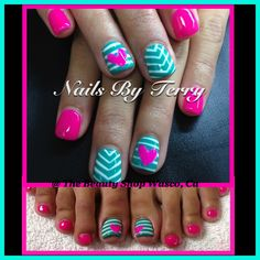 Matching hands & toes gel