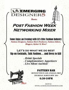 Post Fashion Week Networking Mixer
