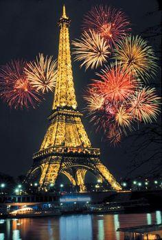 The Eiffel Tower ~ Paris, France