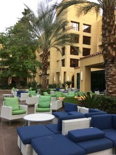 Plenty of outside area to relax. www.extra-mile-travel.com