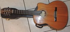 Rare Alhambra Wooden Acoustic/Electric Guitar w/Case Prefix Pro by Fishman…