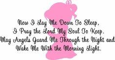 Good Night Prayer (Girl)