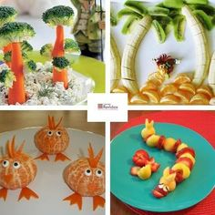 Ideas para que tus hijos coman cinco raciones de frutas y verduras al día