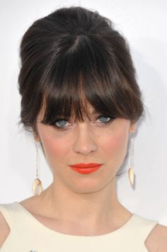How-to: fake a full fringe #hair #video #bangs