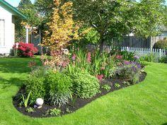 nice full flower bed