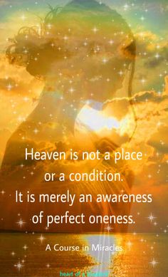 heaven is within . Laws Of Life, All Souls, A Course In Miracles, Inspirational Thoughts, Inner Peace, Consciousness, Cosmic, Awakening, Spirituality