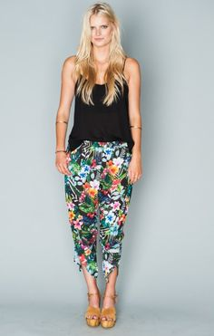 Banana Split Pants ~ Tropical Lovefest