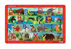 animal kingdom placemat, $4.49