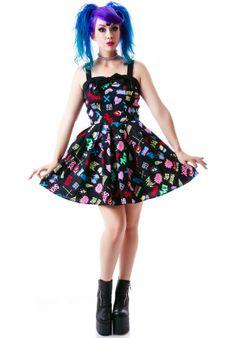 Hell Bunny Horror Gal Mini Dress | Dolls Kill