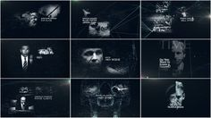 We Steal Secrets: The Story of WikiLeaks  title design - motion graphics - art of the title