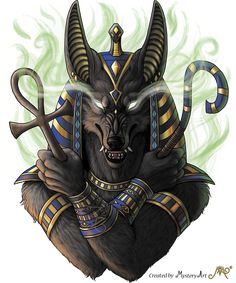 """""""Anubis"""" He was invented a long long time ago in the ancient egypt. How gods and mythologies occured and evolved over time fascinates me a lot. And how some people still believes in some of them. Anubis was an egyptian god of death. Egyptian Mythology, Egyptian Symbols, Egyptian Goddess, Egyptian Art, Egyptian Anubis, Osiris Tattoo, Anubis Tattoo, Anubis Symbol, Anubis Drawing"""