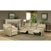 Found it at Wayfair - Mandalay Leather Reclining Sofa