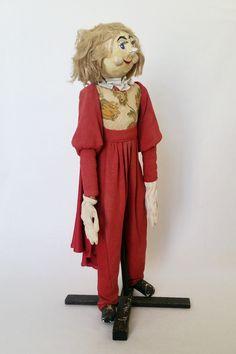 Rare ancienne grande marionnette