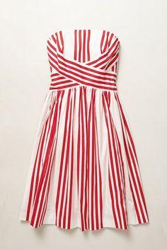 Striped Dress by Maeve