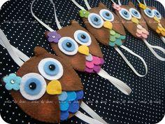 Marcadores de páginas corujinhas! | Flickr - Photo Sharing!