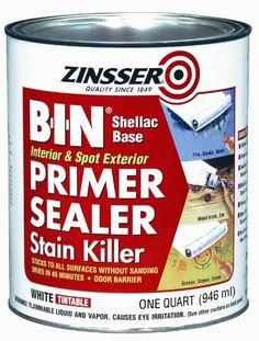 B-I-N Shellac Base Primer & Sealer Stain Killer 00904 (1 Quart) Zinsser http://www.amazon.com/dp/B00113UKQY/ref=cm_sw_r_pi_dp_0qBAub1T9W4PH