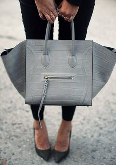 Celine Trapeze Grey