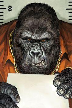 Animal Rights - Gorilla by adijin.deviantart.com on @DeviantArt
