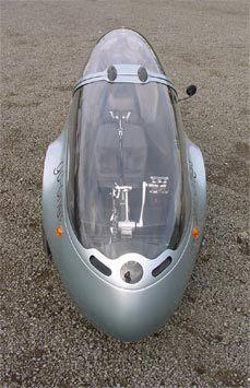 Go-One Aerodynamic Recumbent Tricycle
