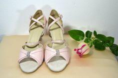 Růžověpudrové svatební boty - celokožená obuv taneční styl. Ružovopudrové  svadobné topánky - celokoženná obuv v b294771c41c