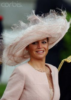 Máxima of The Netherlands - hat