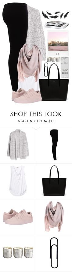 """""""#56"""" by oneandonlyfashion ❤ liked on Polyvore featuring Violeta by Mango, Gestuz, Rebecca Taylor, Lacoste, Vans, Polaroid and Illume"""