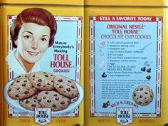 O de cómo Ruth Wakefield, inventora de las galletas con trocitos de chocolate, vendió los derechos de su receta a Nestlé por una miseria pero igualmente se forró.