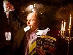 Multi-talented magician providing amazement and amusement both close up, in cabaret or on stage.