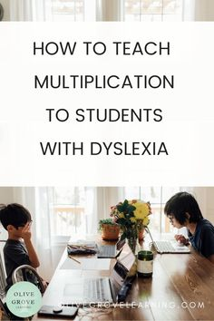 These Dyslexia strategies are amazing! They help students with dyslexia learn multiplication. What a great dyslexia resource! I noticed signs of dyslexia in my daughter, I needed some dyslexia help. This resource provides the best dyslexia strategies for teaching multiplication. Dyslexia Activities, Dyslexia Strategies, Learning Disabilities, Signs Of Dyslexia Children, Types Of Dyslexia, Dyslexia Quotes, Learning Multiplication Facts, Homeschool Math, Homeschooling