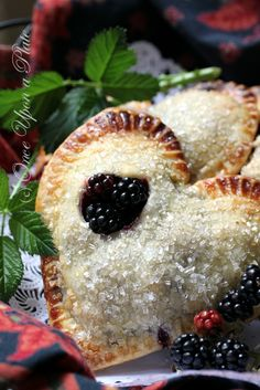 Once Upon a Plate: Fresh Wild Blackberry Pocket Pies