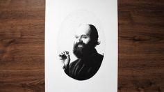 Arvo Pärt Pen Pointillism