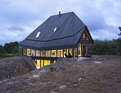 Wooden home designed to withstand extreme weather assembled in just two days