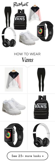 """""""Untitled #233"""" by vivian-achi on Polyvore featuring NIKE, Vans and Beats by Dr. Dre"""