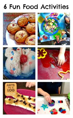 The Weekly Kids Co-Op with 6 Fun Food Activities and Recipes at B-InspiredMama.com